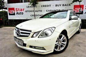 Mercedes-benz E VER-220-CDI-DPF-COUPE-BLUEEFFICIENCY-AUTOMATIK